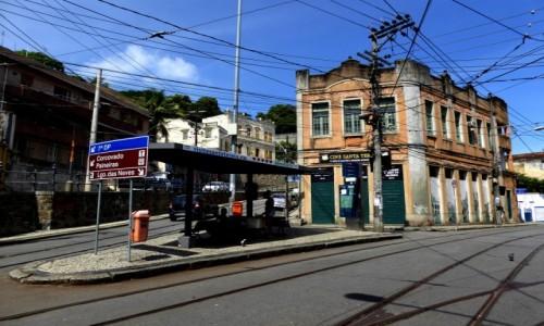 Zdjecie BRAZYLIA / RJ / Rio de Janeiro / Przystanek tramwajowy