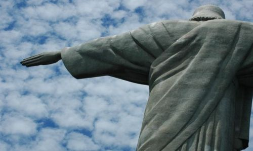 Zdjecie BRAZYLIA / RIO DE JANEIRO / CORCOVADO /