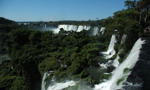 Zdjecie BRAZYLIA / Iguacu / Strona argentyńska / Iguacu