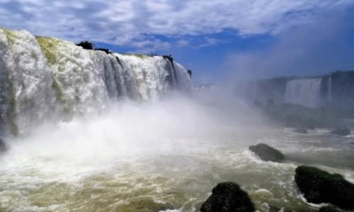Zdjęcie BRAZYLIA / Strona brazylijska / IGUAZU / Nad wielką wodą... rok temu