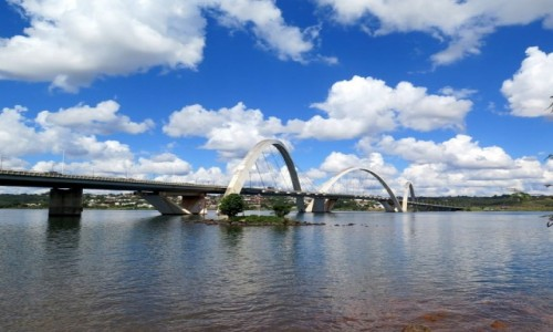 Zdjecie BRAZYLIA / Dystrykt Federalny / Brasília / Juscelino Kubitschek Bridge