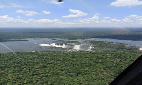 Zdjecie BRAZYLIA / Misiones / Foz do Iguacu / Lot nad wodospadami Iguasu