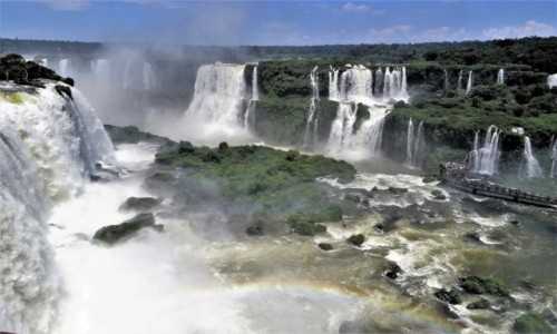 Zdjecie BRAZYLIA / wodospady Iguazu  / strona brazylijska / Piękno i potęga