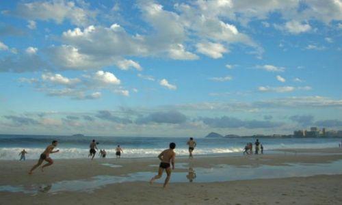 Zdjecie BRAZYLIA / brak / Rio de Janeiro / Na Copacabanie