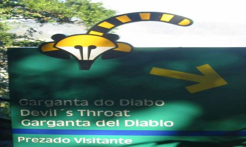 Zdjecie BRAZYLIA / brak / Wododspady iguacu / Kierunek:  Diabla Gardziel