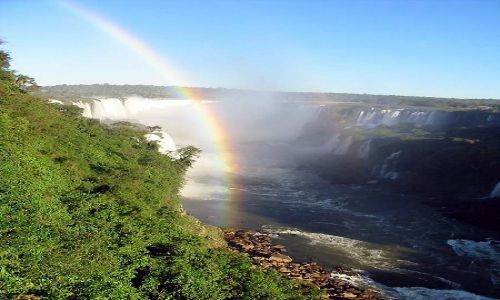 Zdjęcie BRAZYLIA / brak / Wodospday Iguacu / Początek emocji