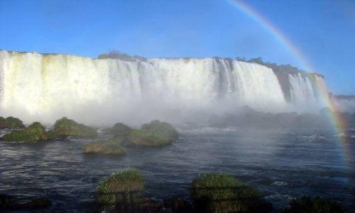 Zdjecie BRAZYLIA / brak / Wododospady Iguacu / Rozwarta Gardziel