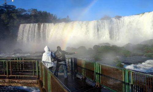 Zdjecie BRAZYLIA / brak / Wododpady Iguacu / Podejść jak najbliżej
