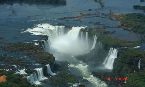 Zdjęcie BRAZYLIA / Foz de Iguazu / Foz de Iguazu / gardziel wodospadu Iguazu