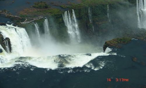 Zdjęcie BRAZYLIA / Foz de Iguazu / Foz de Iguazu / wodospad Iguzu