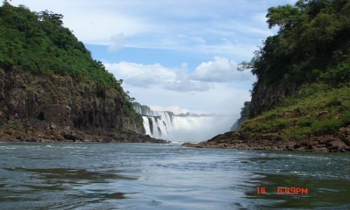Zdjecie BRAZYLIA / Foz de Iguazu / Foz de Iguazu / wodospad Iguazu