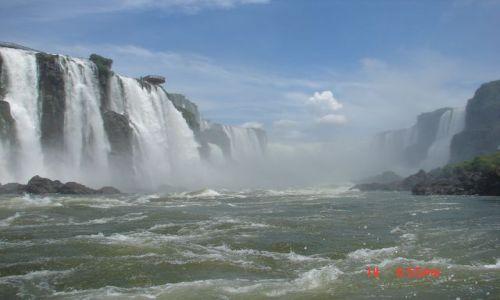 Zdjęcie BRAZYLIA / Foz de Iguazu / Foz de Iguazu / potęga wody