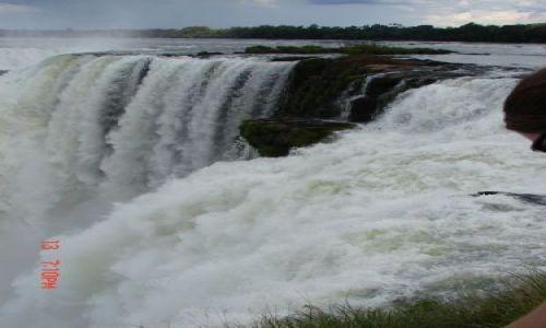 Zdjęcie BRAZYLIA / Foz de Iguazu / Foz de Iguazu / wodospad