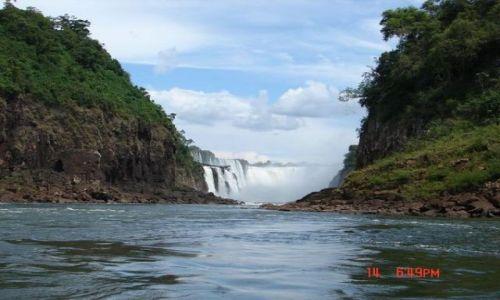 Zdjecie BRAZYLIA / Iguazu / Foz de Iguazu / wodospad Iguazu