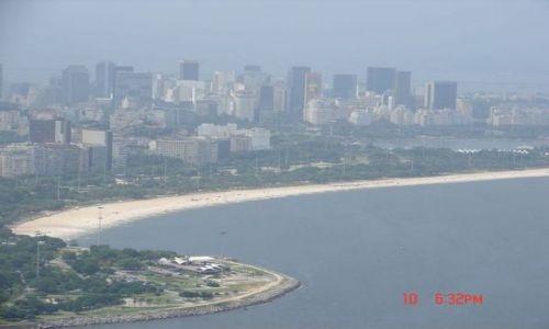 Zdjęcie BRAZYLIA / Rio de Janeiro / Plażą Ipanema / plaża miejska w Rio