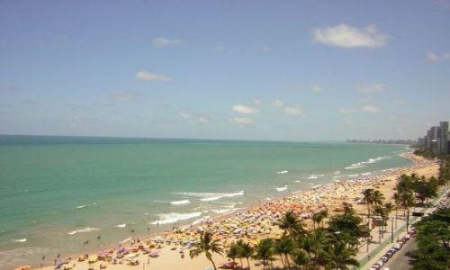 Zdjęcie BRAZYLIA / Recife / Recife / plaża w Recife