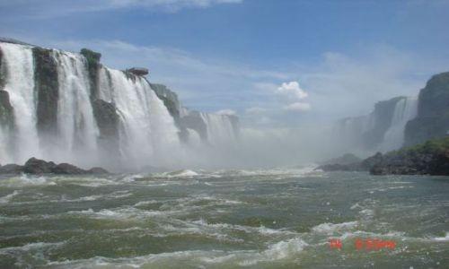 Zdjęcie BRAZYLIA / Iguazu / foz de Iguazu / wodospady Iguzau