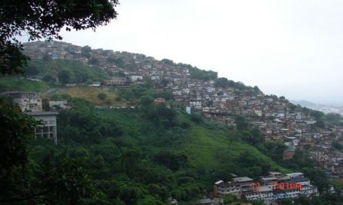 Zdjęcie BRAZYLIA / Rio de Janeiro / Rio de Janeiro / favele - dzielnice biedy