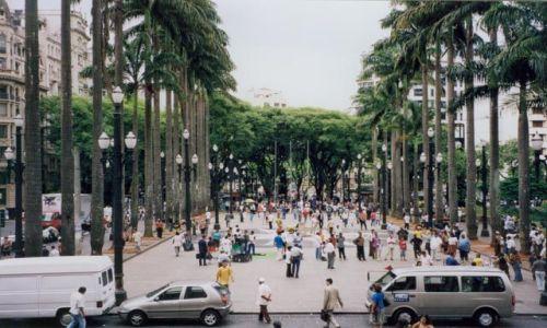 Zdjecie BRAZYLIA / brak / Sao Paulo / Plac przed katedrą