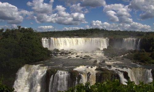 Zdjecie BRAZYLIA / - / Foz De Iguazu / wielki szum