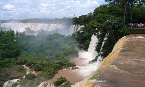 Zdjecie BRAZYLIA / Brazylia / Argentyna / Iguazu wodospad / Iguazu