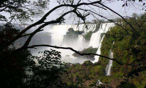 Zdjecie BRAZYLIA / - / Foz do Iguacu / Wodospadek