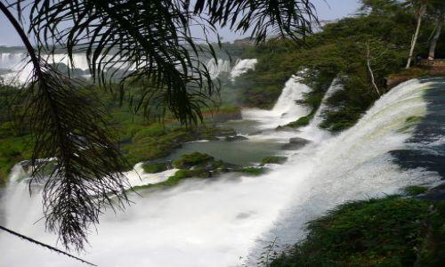 Zdjecie BRAZYLIA / - / Foz do Iguacu / Wodospadek 2