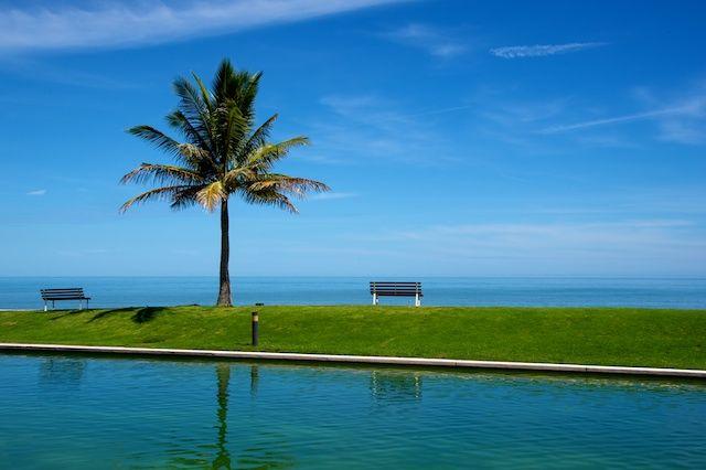 Zdjęcia: The Empire Hotel, Laweczka nad morzem (Brunei), BRUNEI