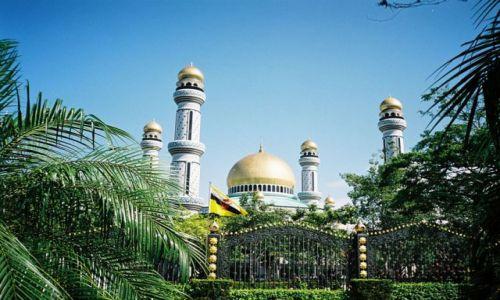 BRUNEI / Bandar Seri Begawan / Gadong / Meczet