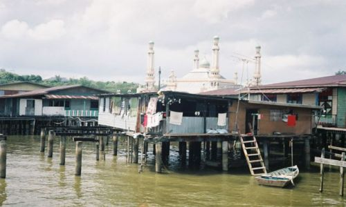 BRUNEI / Bandar Seri Begawan / Kampong / Osiedla