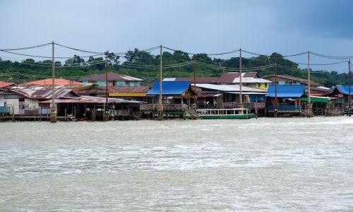 Zdjęcie BRUNEI / - / Bandar Seri Begawan / Miasto na wodzie (Brunei)