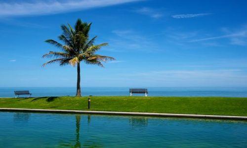 Zdjęcie BRUNEI / - / The Empire Hotel / Laweczka nad morzem (Brunei)