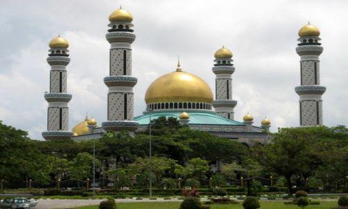 Zdjęcie BRUNEI / Borneo / Bandar Seri Begawan / Meczet Jame'Asr Hassanal Bolkiah