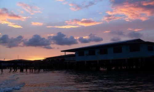 BRUNEI / Brunei / Borneo-Bandar Seri Begawan / ... koniec bliski...