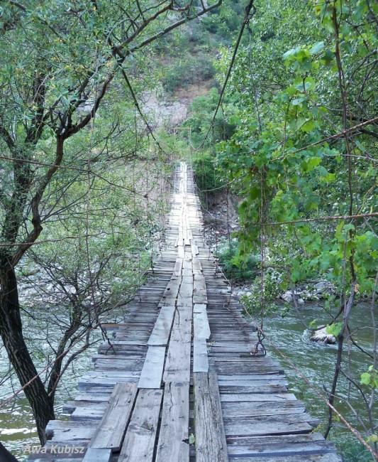 Zdjęcia: Melnik, Południe, Wiszący mostek nad Strumą, BUłGARIA