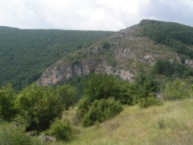 Zdjęcia: przed Sofią, Naturalna trybuna, BUłGARIA