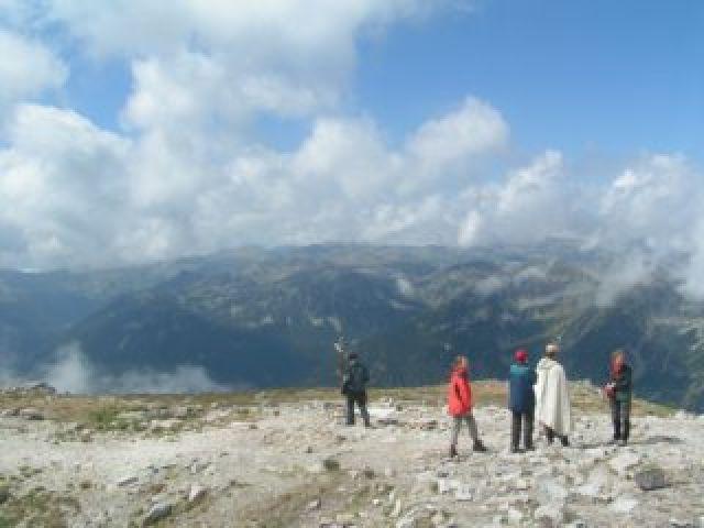 Zdjęcia: Musała 2925m n.p.m., Góry Riła, Na szczycie, BUłGARIA