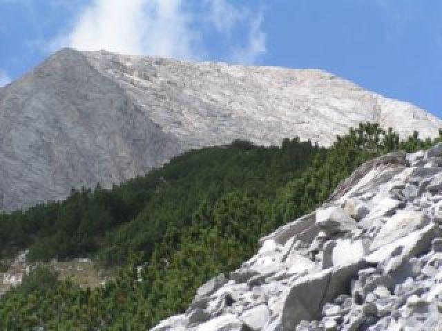 Zdjęcia: szlak zielony ze schroniska Banderica, Góry Pirin, Wichren -  ściana północna, BUłGARIA