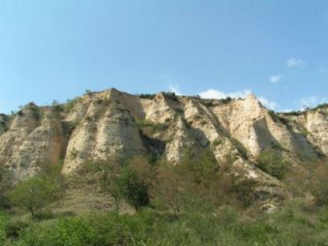 Zdjęcia: Melnik, Góry Pirin, Melnickie piramidy, BUłGARIA