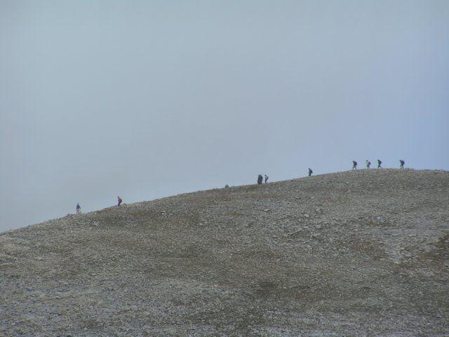 Zdjęcia: niedaleko Wichrenu, Góry Pirin, Ludzie na szlaku, BUłGARIA