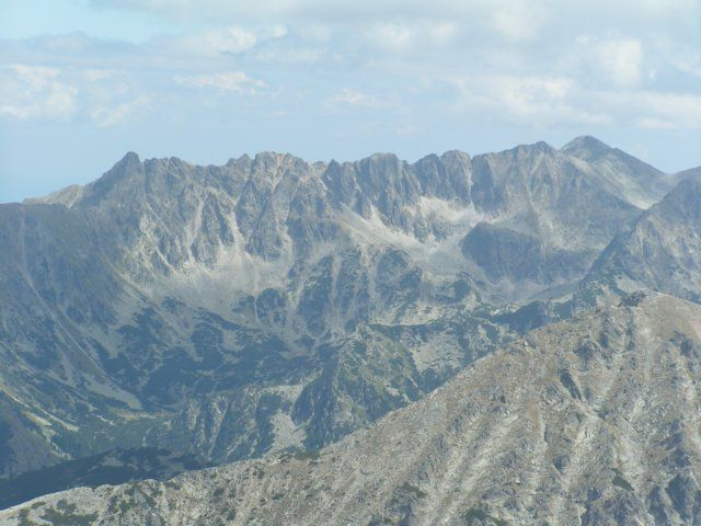 Zdjęcia: Widok z Wichrenu na wschód, Góry Pirin, Grań, BUłGARIA