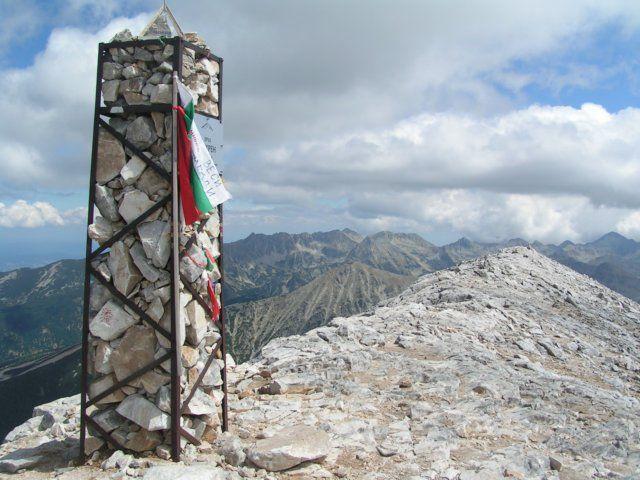 Zdjęcia: Widok z Wichrenu na wschód, Góry Pirin, 2914 m. n.p.m., BUłGARIA