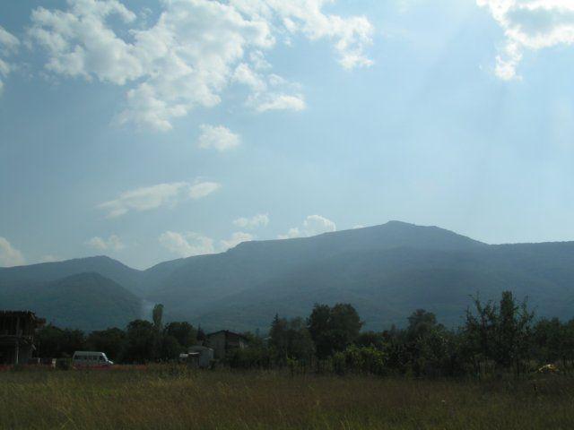 Zdjęcia: Sofia, Płn.-zach. Bułgaria, Widok na Góry Witosza z Sofii, BUłGARIA