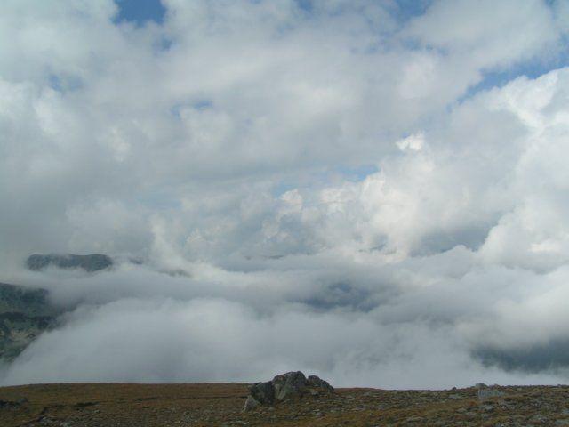 Zdjęcia: Owczarec, Góry Riła, Magia chmur 2, BUłGARIA
