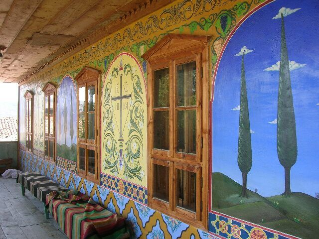 Zdj�cia: Oblicza Bu�garii, Monaster Preobra�e�ski, BU�GARIA
