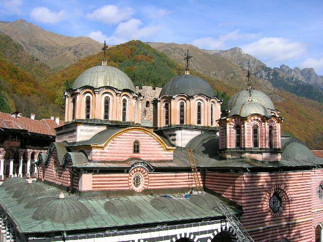 Zdj�cia: Oblicza Bu�garii, Monastyr Rylski, BU�GARIA