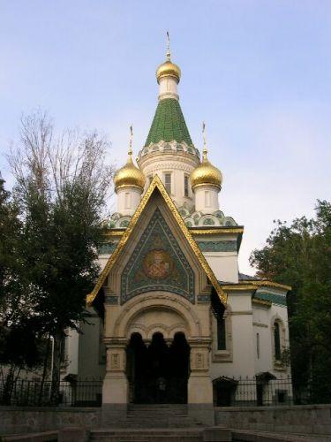 Zdjęcia: Bułgarska codzienność, Rosyjska cerkiew św. Mikołaja- Sofia, BUłGARIA