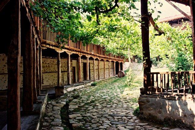 Zdjęcia: Monaster Rożeński, Góry Piryn, okolice Melnika, Święty spokój, BUłGARIA