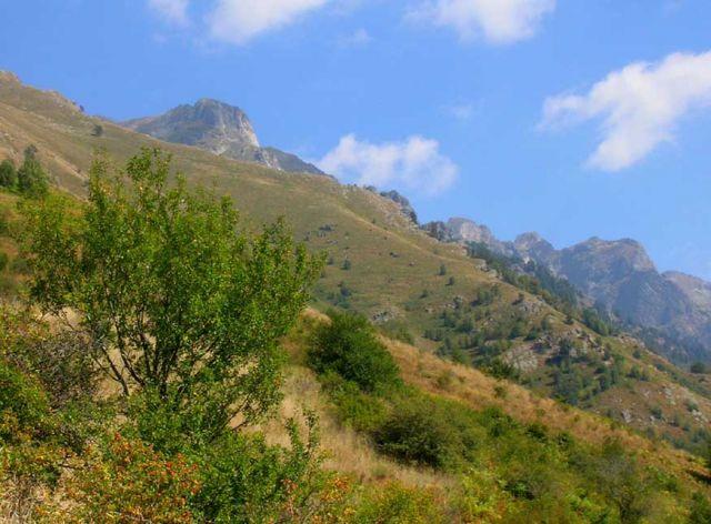 Zdjęcia: Szlak z Monastyru Rilskiego na Maliowicę, Riła, Góry Bułgarii, BUłGARIA