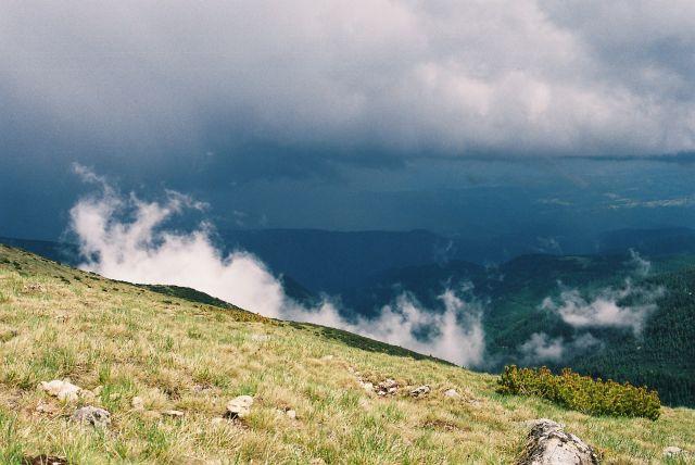 Zdjęcia: okolice Grynczara, Riła, Burza idzie, BUłGARIA